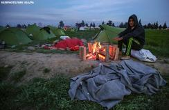 refugee camp Greece