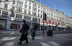 London in lockdown in March 2020