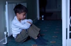 An upset child