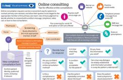 Online consulting visual summary