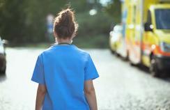 doctor walking away
