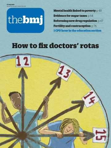 The BMJ latest issue cover