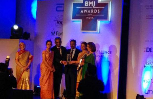 """The winner in the category """"Quality Improvement in Healthcare"""""""