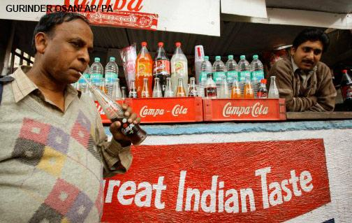Sugary drinks in India