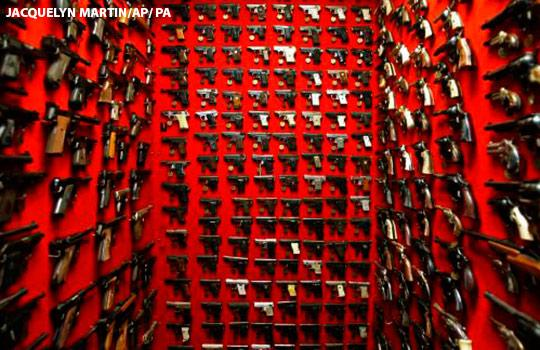 One person is killed by a firearm every 17 minutes in the US