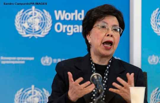 Margaret Chan, current director general WHO