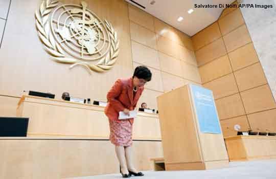Margaret Chan, current director general WHO