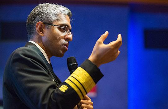 Vivek Murthy, the US surgeon general