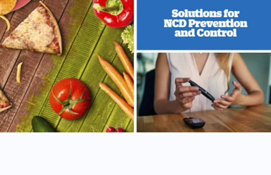 Solutions for non-communicable disease prevention and control