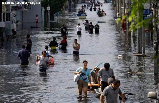 climate change flood