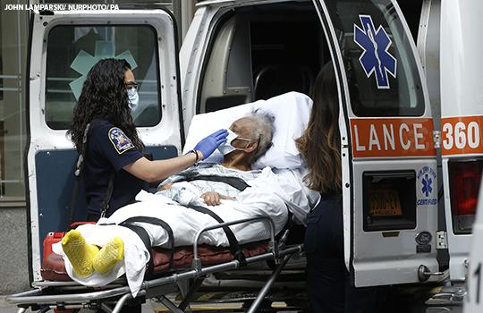 A patient in New York