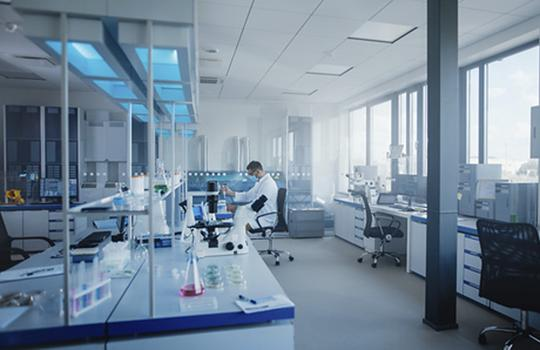 scientist lab